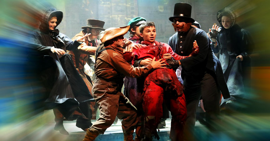 OLIVER TWIST-LE MUSICAL-PARIS-DARKSIDE-EVENTS