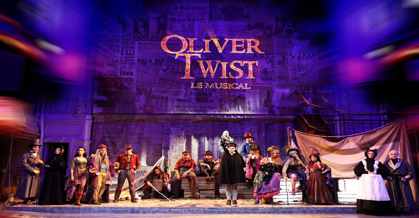 OLIVER TWIST-LE MUSIOCAL-PARIS DARKSIDE-EVENTS