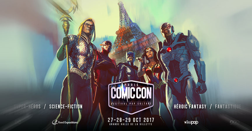 comic con- Paris-2017-super heros-darkside-events.com