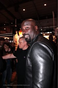 Mike Colter-Luke Cage-Comic con-Paris-Darkside-events.com