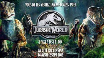 Permalink to: DU 14 AVRIL AU 2 SEPTEMBRE, les dinosaures débarquent à la Cité du Cinéma: JURASSIC WORLD / L'EXPOSITION, C'EST PAS DU CINEMA