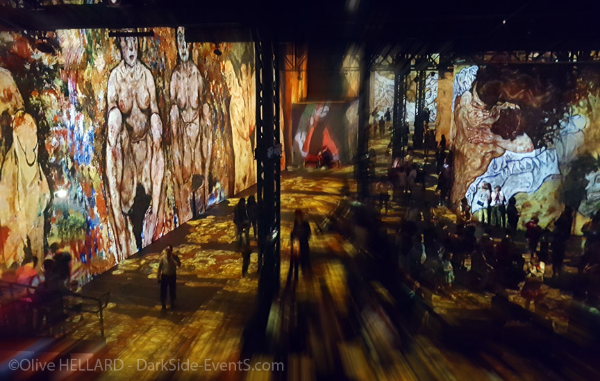 atelier des lumieres-Klimt-Paris-Darkside-events.com