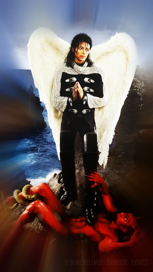 On the wall-Michael Jackson-Grand Palais-Paris-darkside-events.com